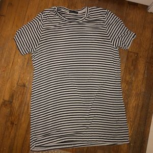 striped brandy t-shirt dress